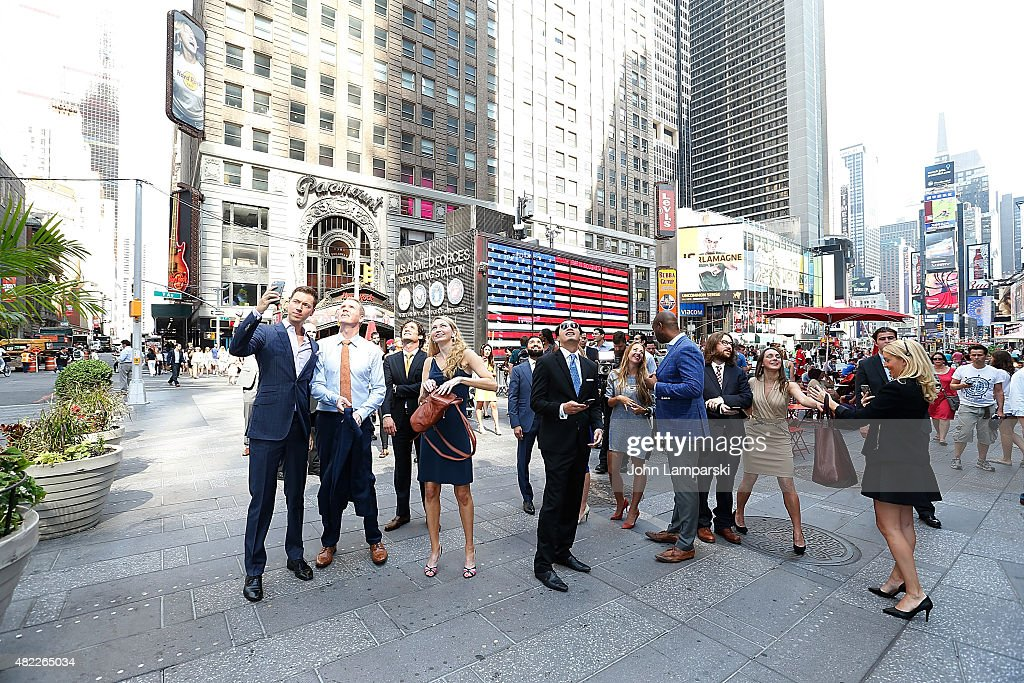"""Million Dollar Listing San Francisco"" Ring The Nasdaq Stock Market Opening Bell : News Photo"