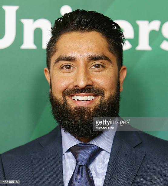 Roh Habibi arrives at the 2015 NBCUniversal Summer press day held at The Langham Huntington Hotel and Spa on April 2 2015 in Pasadena California