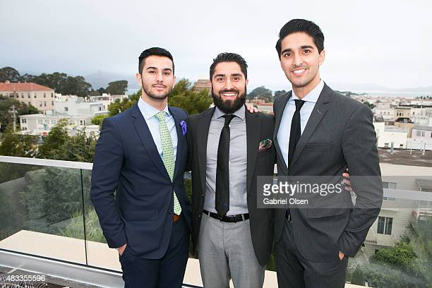 Roh Habibi attends Meridith Baer Home Teedhaze Presents The Living Art Open House At 2764 Greenwich St San Francisco CA for The Society Group on...