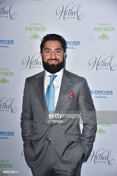 Roh Habibi attends the Fourth Annual Hotbed Gala at The Drever Estate on August 22 2015 in Tiburon California