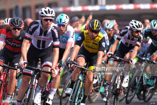 Rohan Dennis of Australia and BMC Racing Team / Bert-Jan Lindeman of The Netherlands and Team LottoNL-Jumbo / during the 101st Tour of Italy 2018,...
