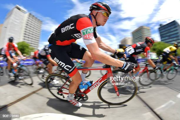 Rohan Dennis of Australia and BMC Racing Team competes during stage six of the 2018 Tour Down Under on January 21 2018 in Adelaide Australia