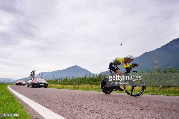 Rohan Dennis of Australia and BMC Racing Team / during the 101st Tour of Italy 2018 Stage 16 a 342km Individual Time Trial stage from Trento to...