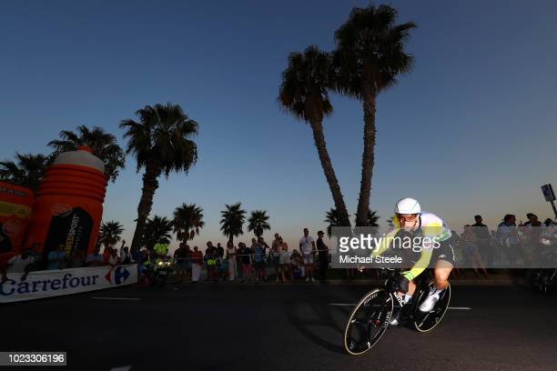 Rohan Dennis of Australia and BMC Racing Team / during the 73rd Tour of Spain 2018 Stage 1 a 8km Individual Time Trial from Malaga to Malaga / La...