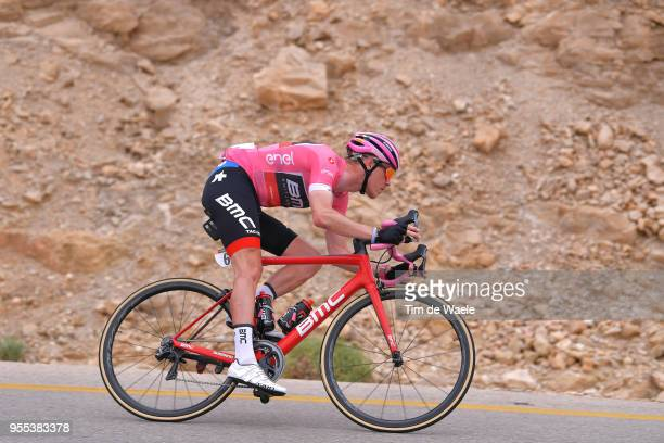 Rohan Dennis of Australia and BMC Racing Team Pink Leader Jersey / during the 101th Tour of Italy 2018, Stage 3 a 229km stage from Be'er Sheva to...