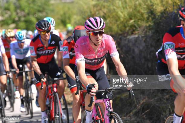 Rohan Dennis of Australia and BMC Racing Team Pink Leader Jersey / uring the 101th Tour of Italy 2018, Stage 4 a 198km stage from Catania to...
