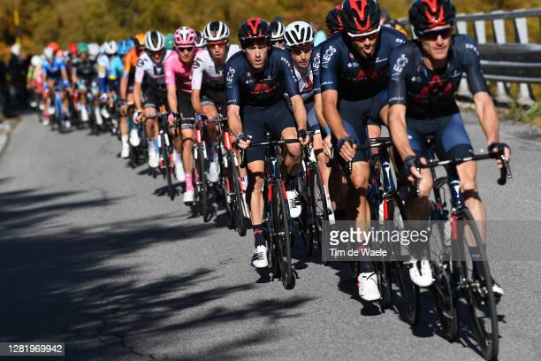 Rohan Dennis of Australia and Team INEOS Grenadiers / Ben Swift of The United Kingdom and Team INEOS Grenadiers / Peloton / during the 103rd Giro...