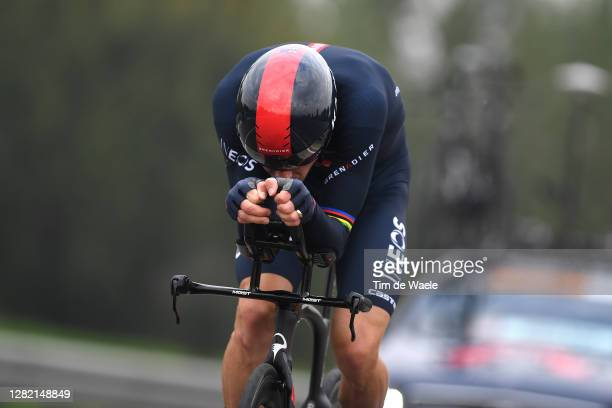 Rohan Dennis of Australia and Team INEOS Grenadiers / during the 103rd Giro d'Italia 2020, Stage 21 a 15,7km Individual time trial from Cernusco sul...