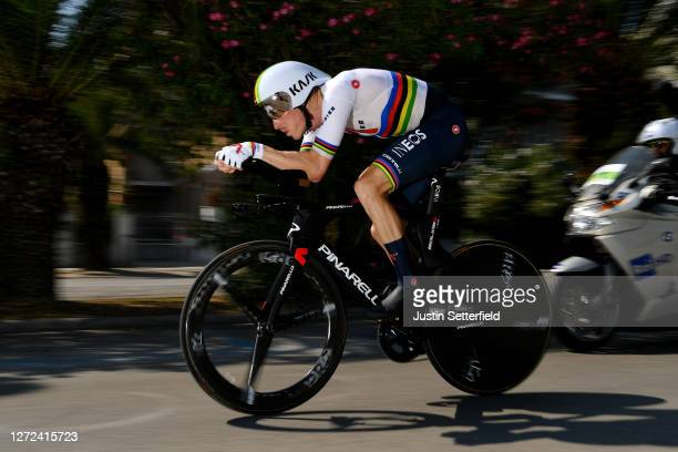 Rohan Dennis of Australia and Team INEOS Grenadiers / during the 55th Tirreno-Adriatico 2020 - Stage 8 a 10,1km Individual Time Trial in San...
