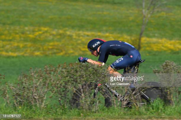 Rohan Dennis of Australia and Team INEOS Grenadiers during the 74th Tour De Romandie 2021, Prologue a 4,05km Individual Time Trial stage from Oron to...