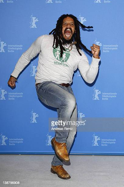 Rohan Marley attends the Marley Photocall during day four of the 62nd Berlin International Film Festival at the Grand Hyatt on February 12 2012 in...