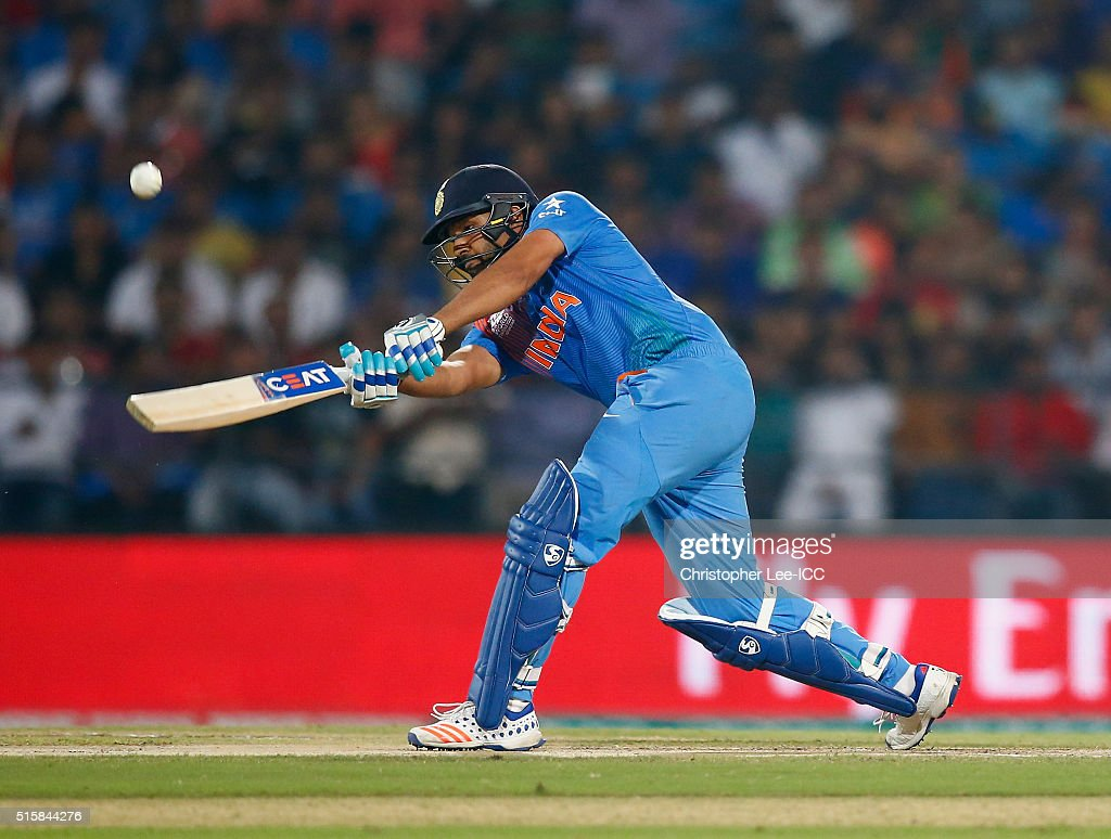 Rohi Sharma of India in action during the ICC World Twenty20 India 2016 Group 2 match between New Zealand and India at the Vidarbha Cricket Association Stadium on March 15, 2016 in Nagpur, India.