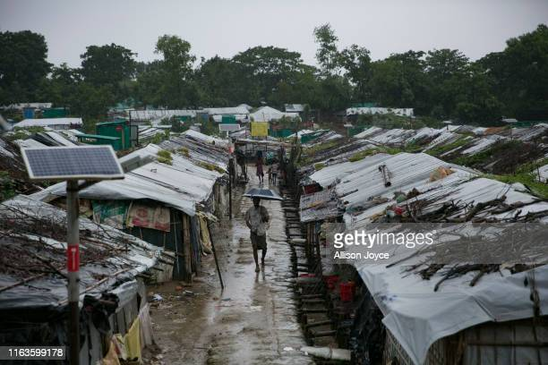 COX'S BAZAR BANGLADESH AUGUST 24 Rohingya are seen in a refugee camp on August 24 2019 in Cox's Bazar Bangladesh August 25th marks the second...