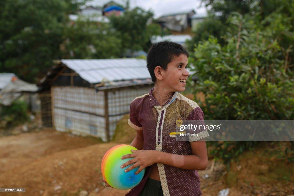 Rohingya Hold 'Silent Protest' On Anniversary Of Exodus To Bangladesh : News Photo