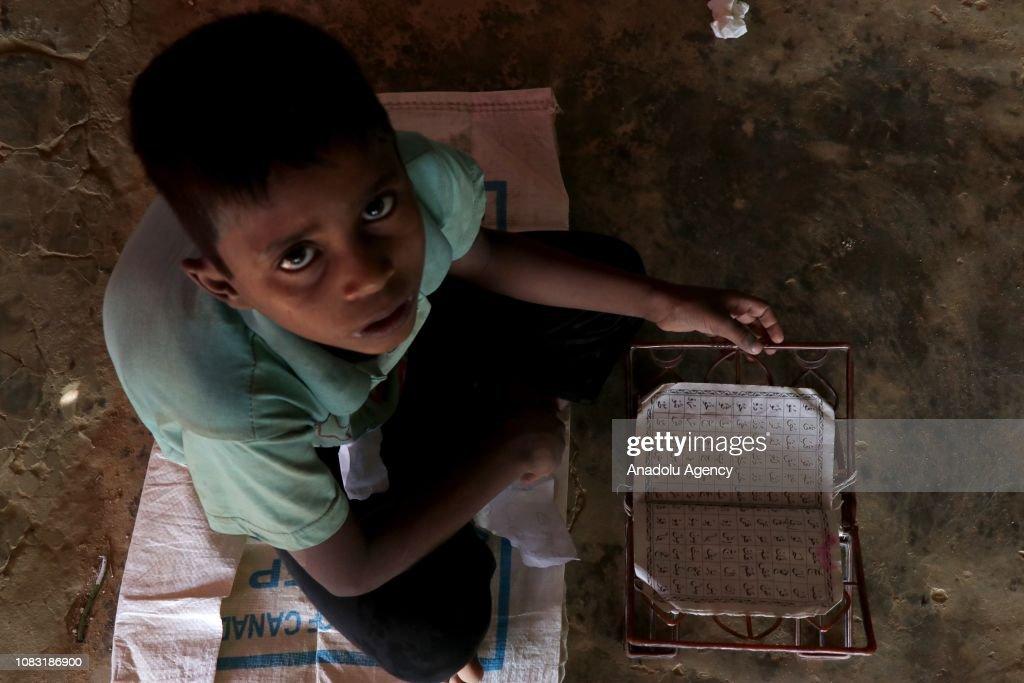 Daily life of Rohingya people in Bangladesh : News Photo