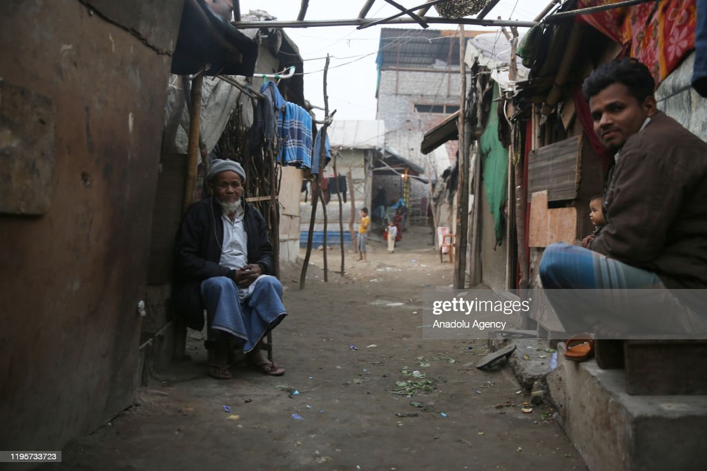 Tragic fate follows Rohingya in India : Nieuwsfoto's