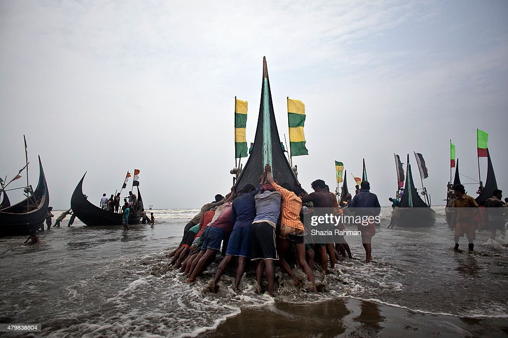 Bangladesh's Rohingya Refugees See Sharp Rise In Human Trafficking Victims : News Photo