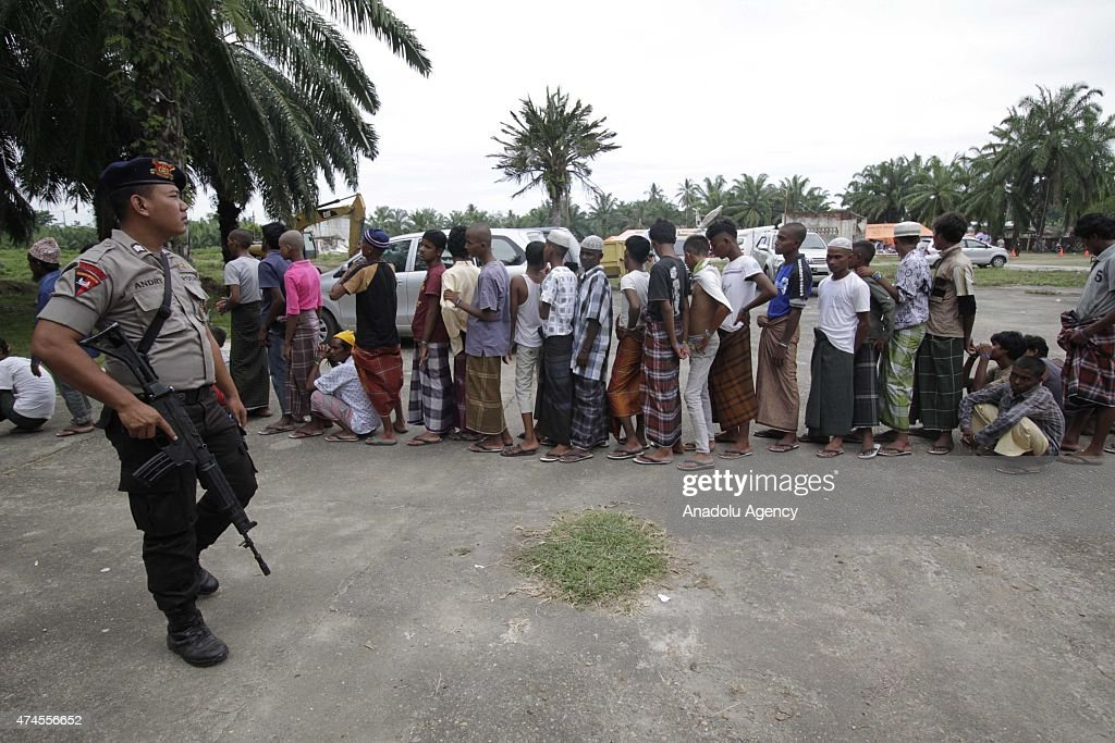 Rohingya migrants take shelter in Aceh : News Photo
