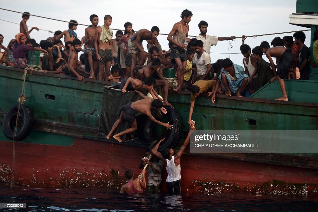 THAILAND-SEASIA-MIGRANTS : News Photo