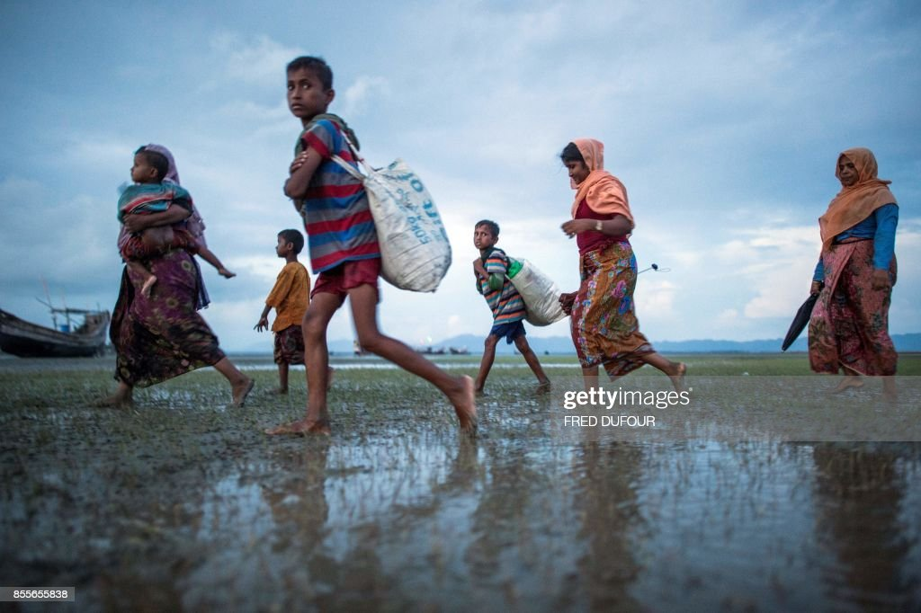 BANGLADESH-MYANMAR-UNREST-REFUGEE : News Photo