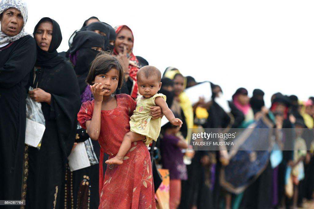 BANGLADESH-MYANMAR-REFUGEE-UNREST-ROHINGYA : News Photo