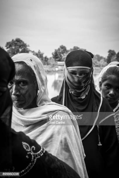 Rohingya Muslim women in Bangladesh