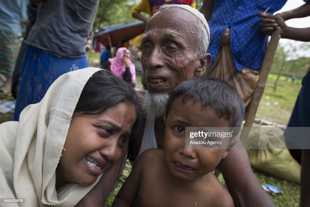 Rohingya people in Bangladesh : News Photo