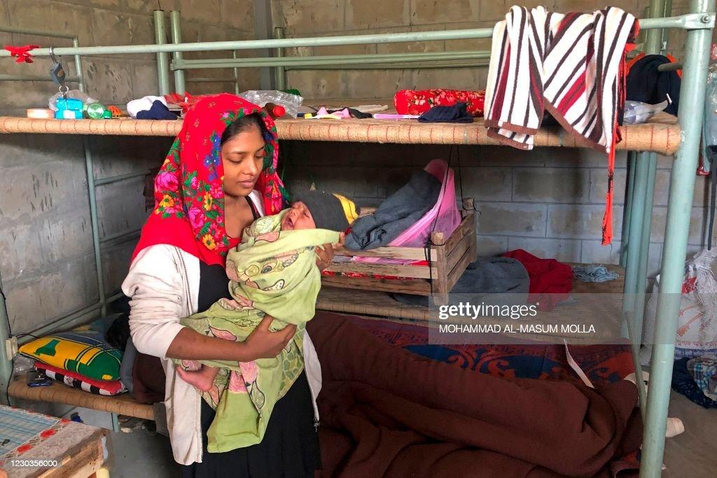 BANGLADESH-MYANMAR-ROHINGYA-REFUGEE-RIGHTS : News Photo