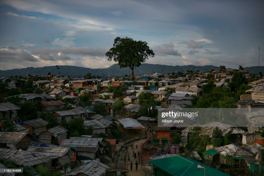 Rohingya Refugees Mark Two Years Since The Crisis : News Photo