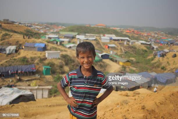 A Rohingya refugee child pictured at the refugee camp More than 600000 Rohingya refugees have fled from Myanmar Rakhine state since August 2017 as...