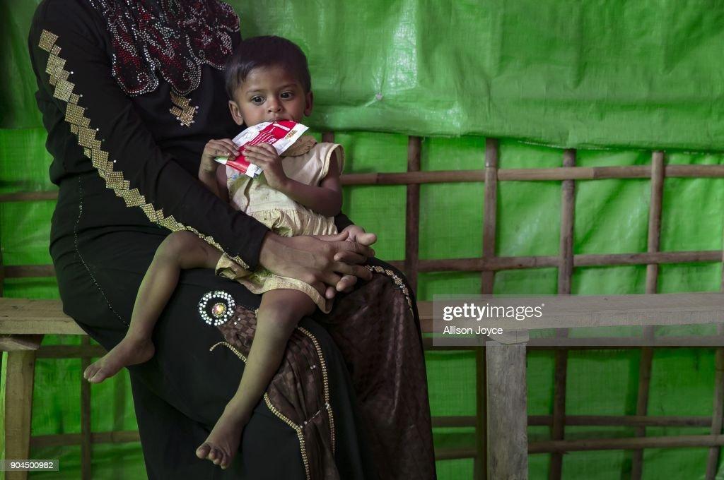 Rohingya Muslims Trapped In Limbo At Bangladesh's Refugee Camps : News Photo