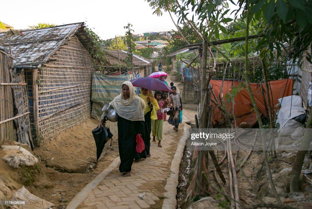 Life Inside The Rohingya Refugee Camps : News Photo