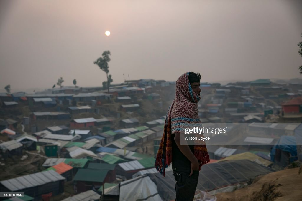 Rohingya Muslims Trapped In Limbo At Bangladesh's Refugee Camps : Photo d'actualité