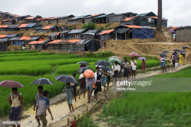 Rohingya refugees have crossed over to Bangladesh Rohingya people living in the Rakhine State of Myanmar are leaving their homes they have lived in...