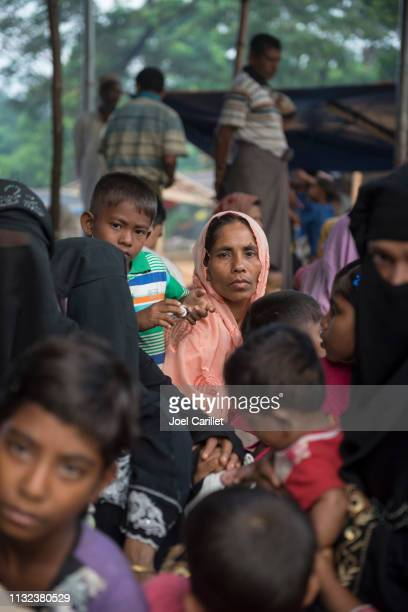 rohingya refugees in bangladesh - bangladesh mother stock pictures, royalty-free photos & images