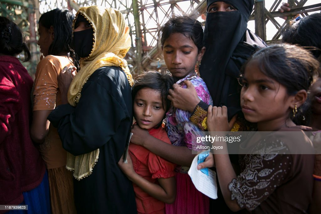 Inside Rohingya Refugee Camps As Myanmar Faces Charges Of Genocide : News Photo