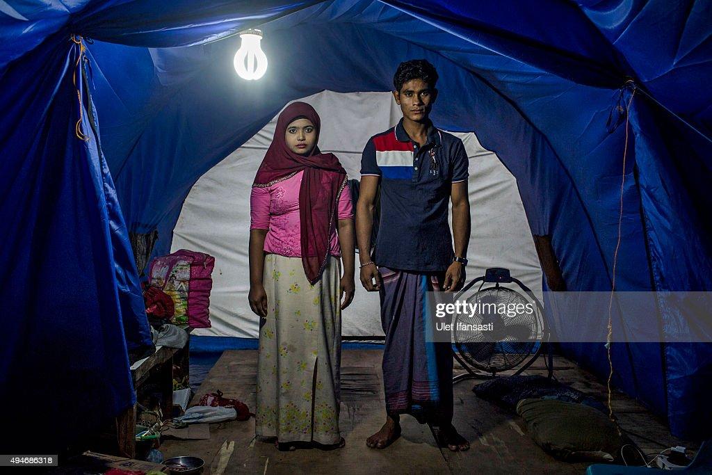 Rohingya Muslims In Aceh Remain In Limbo : Nachrichtenfoto