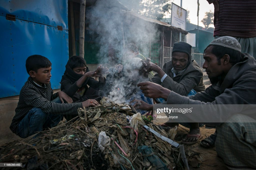 Inside Rohingya Refugee Camps As Myanmar Faces Charges Of Genocide : Nieuwsfoto's