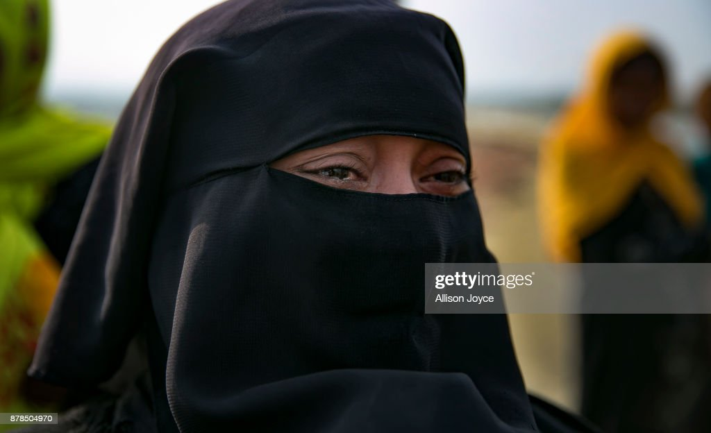 A Rohingya woman cries as she crosses into mainland Bangladesh from Shah Porir Dwip November 24, 2017 in Cox's Bazar, Bangladesh. 'The Myanmar military killed my mother in front of me' she sobbed and asked 'will anyone beat me here in Bangladesh?'. Myanmar and Bangladesh signed a deal on Thursday to repatriate hundreds of thousands of Rohingya Muslims who have flooded into Bangladesh during the brutal crackdown on the Rohingya minority. Over 620,000 Rohingya have fled their homes since the brutal crackdown began late August, which has been termed as 'ethnic cleansing' by the UN and the US.