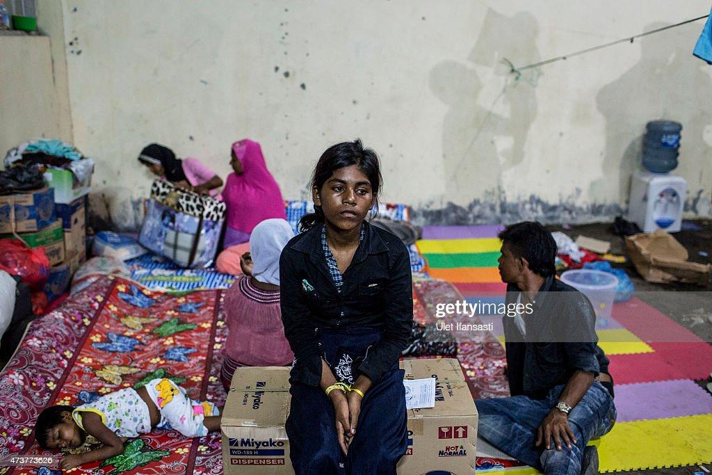 Rohingya Migrants Fleeing Myanmar Continue To Land On Indonesia's Shores : Nachrichtenfoto