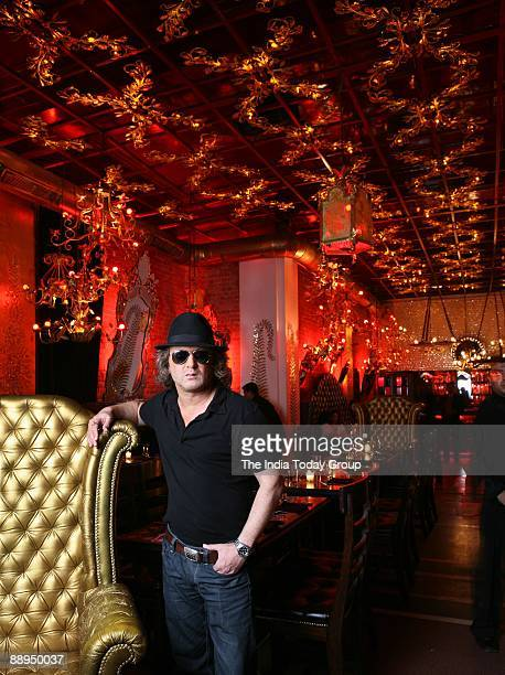 Rohit Bal Fashion Designer at Veda Restaurant in Connaught Place New Delhi India on Monday July 30 2007