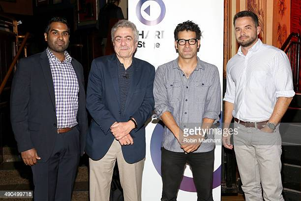 Rohit Gupta James Beard AwardWinning Journalist of GQ Alan Richman Chef and Owner of Lupulo and ALDEA George Mendes and CEO Tasting Table Geoff...