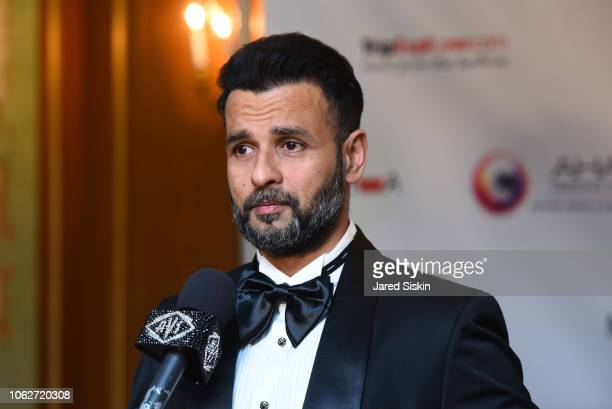 Rohit Roy attends RAYWA Presents TIA at The Pierre Hotel on November 16 2018 in New York City