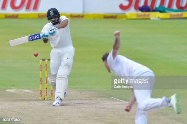 Rohit Sharma of India during day 4 of the 1st Sunfoil Test match between South Africa and India at PPC Newlands on January 08 2018 in Cape Town South...