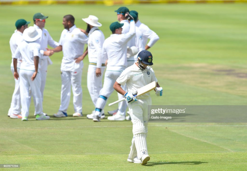 1st Sunfoil Test: South Africa v India, Day Four : News Photo