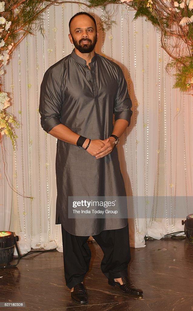 Rohit Shetty at Bipasha Basu and Karan Singh Grovers wedding reception ceremony at St Regis Hotel in Mumbai