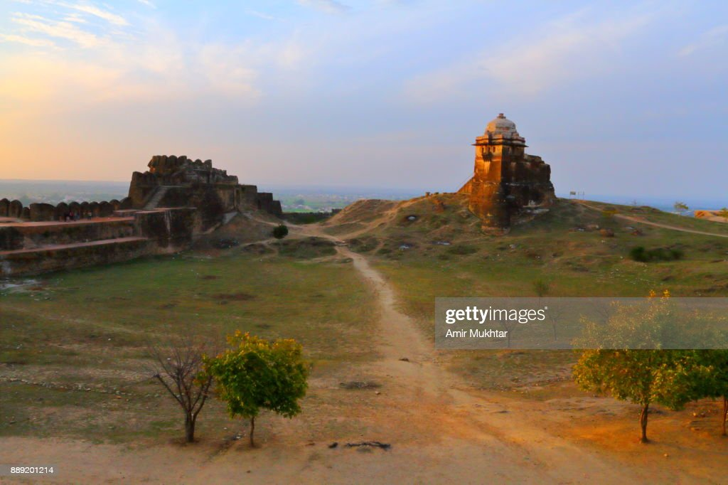 Rohtas Fort At Sunset Time : Stock Photo