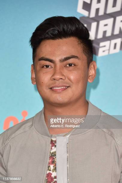 Roi Fabito aka Guava Juice attends Nickelodeon's 2019 Kids' Choice Awards at Galen Center on March 23 2019 in Los Angeles California