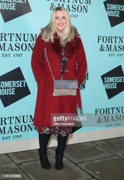 Roisin Conaty attends the Skate At Somerset House With Fortnum Mason VIP launch party on November 12 2019 in London England