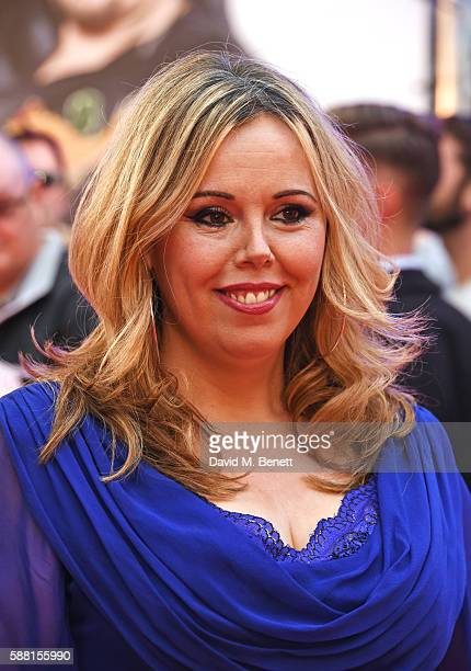 Roisin Conaty attends the World Premiere 'David Brent Life On The Road' at Odeon Leicester Square on August 10 2016 in London England